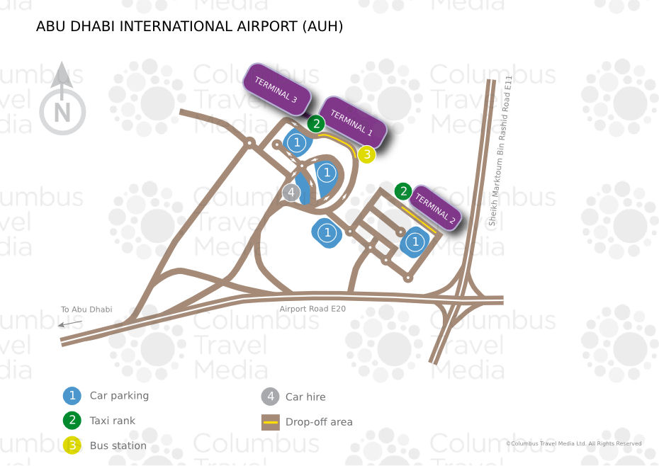 Abu Dhabi International Airport World Travel Guide