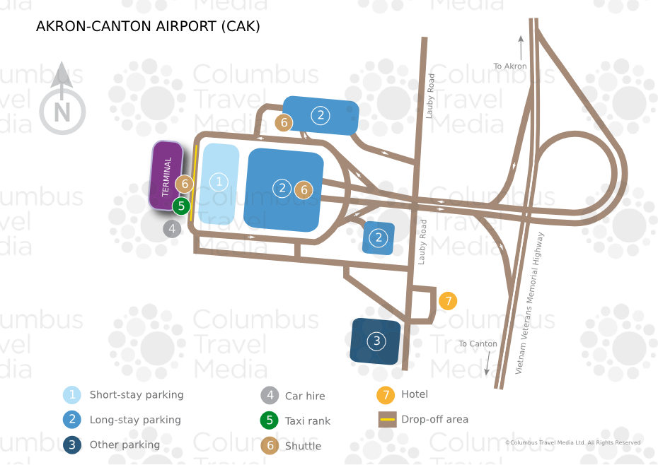 AkronCanton Airport World Travel Guide