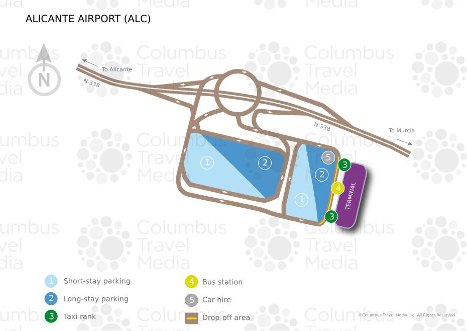 Alicante Airport Terminal Map Alicante Elche Airport | World Travel Guide