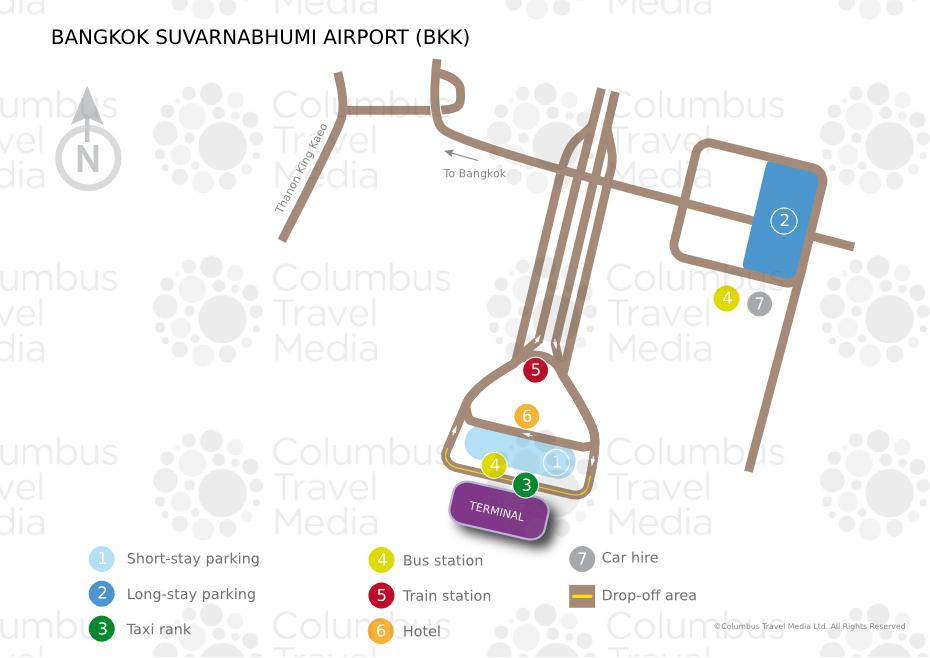 Bangkok Suvarnabhumi Airport World Travel Guide