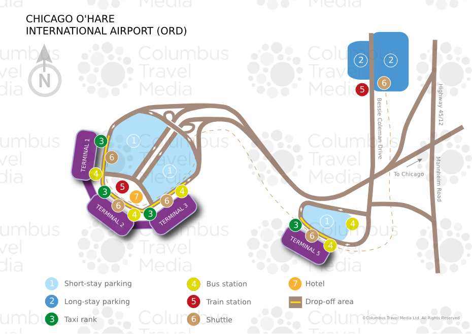 O'hare airport international parking