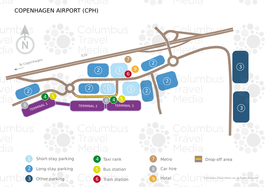 Copenhagen Airport Transportation To Hotels