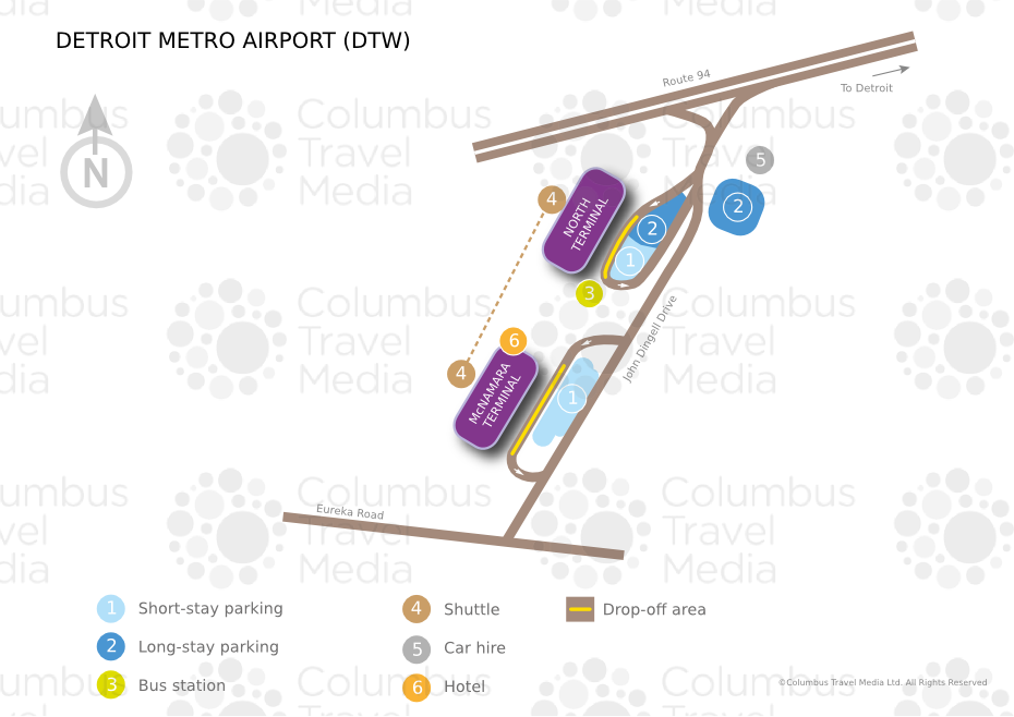 Detroit Metro Airport World Travel Guide