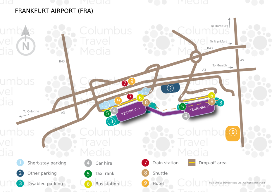 Frankfurt airport world travel guide about frankfurt airport fra ccuart Images