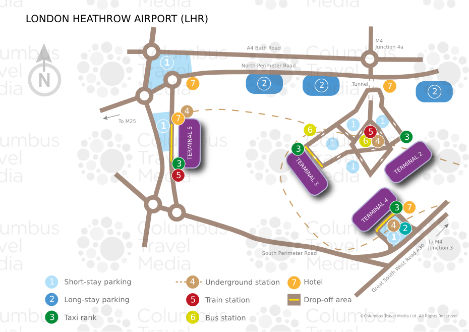 Heathrow Airport Map London Heathrow Airport | World Travel Guide Heathrow Airport Map