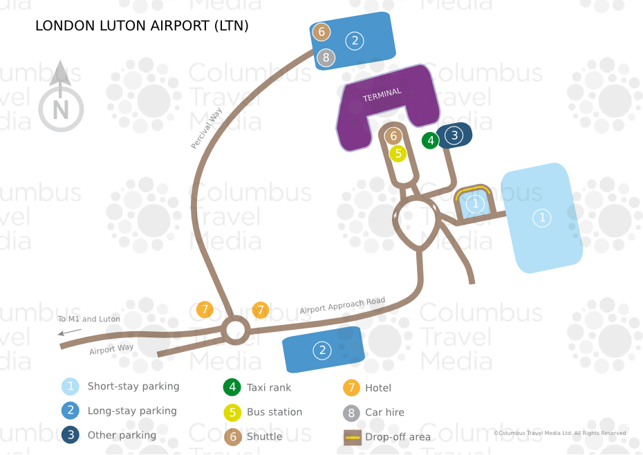 London Luton Airport | World Travel Guide