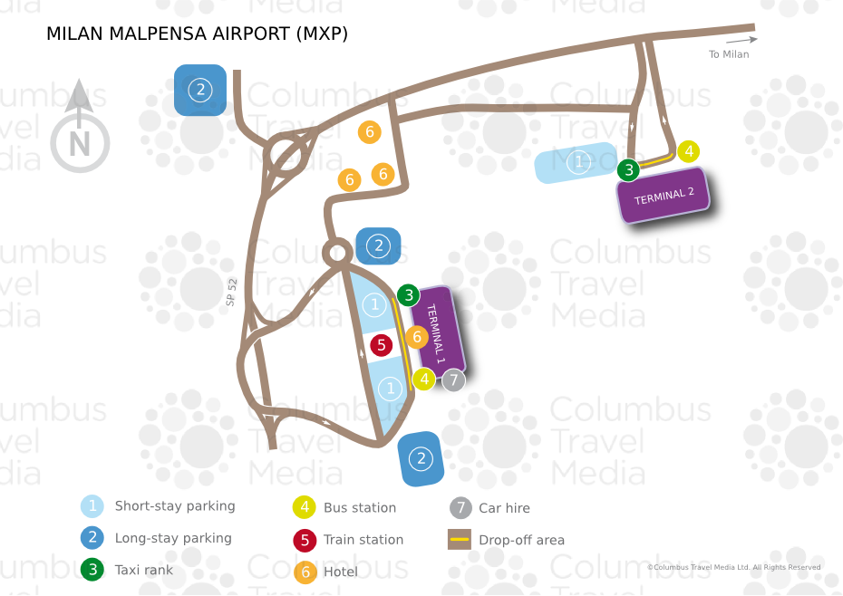 Malpensa Airport Map Milan Malpensa Airport | World Travel Guide