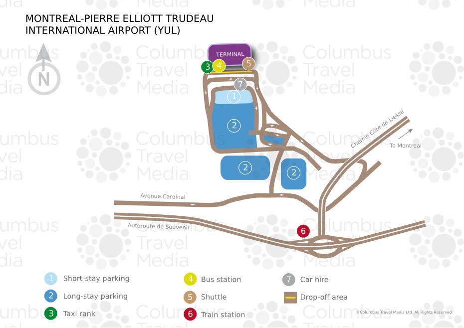 MontrealPierre Elliott Trudeau International Airport World Travel