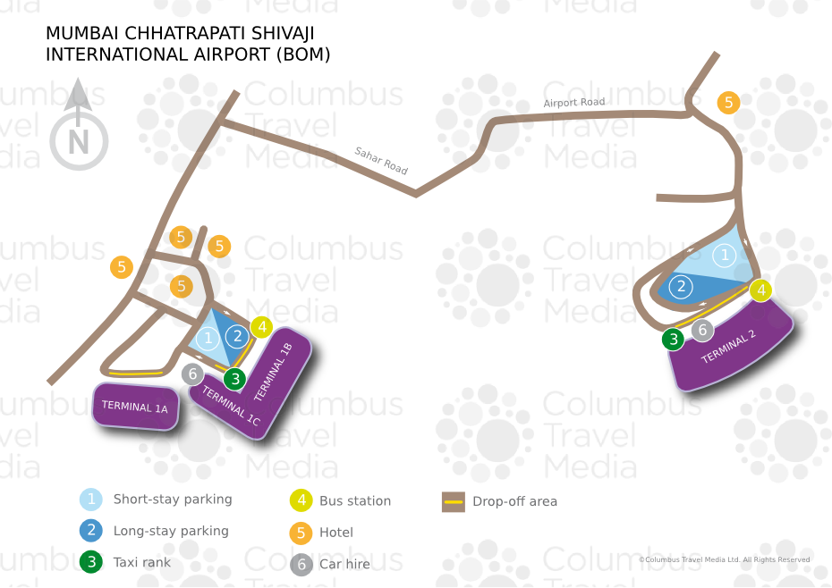International Airport Mumbai Map Mumbai Chhatrapati Shivaji International Airport | World Travel Guide