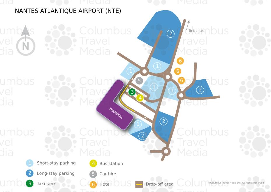 nantes atlantique airport world travel guide. Black Bedroom Furniture Sets. Home Design Ideas