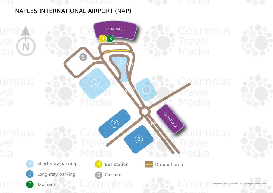 Naples Airport Terminal Map Naples International Airport | World Travel Guide