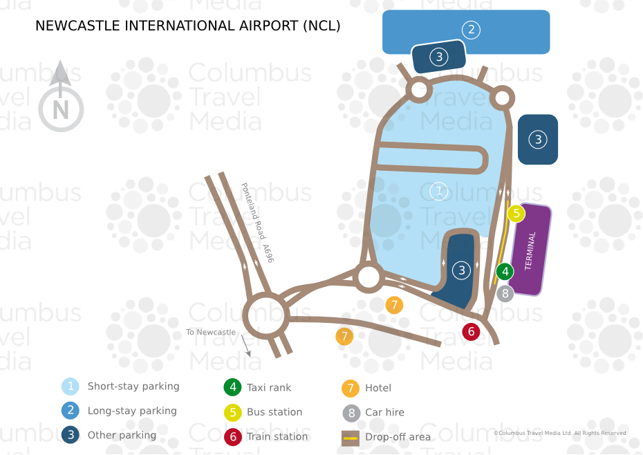 Newcastle International Airport World Travel Guide