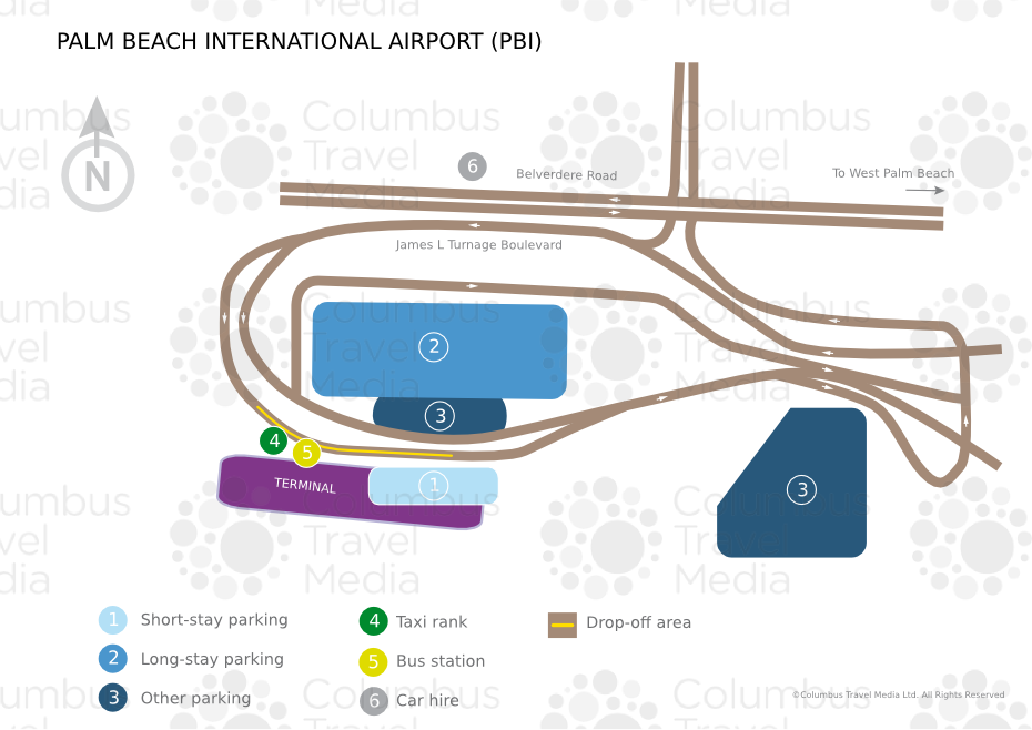 Palm Beach International Airport World Travel Guide