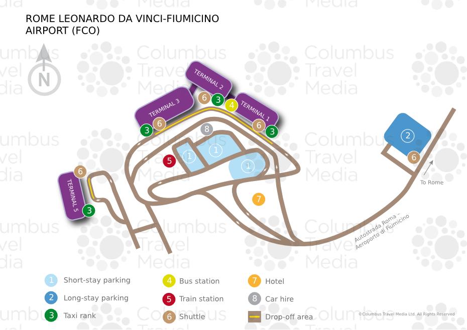 About Rome Leonardo Da Vinci Fiumicino Airport Fco