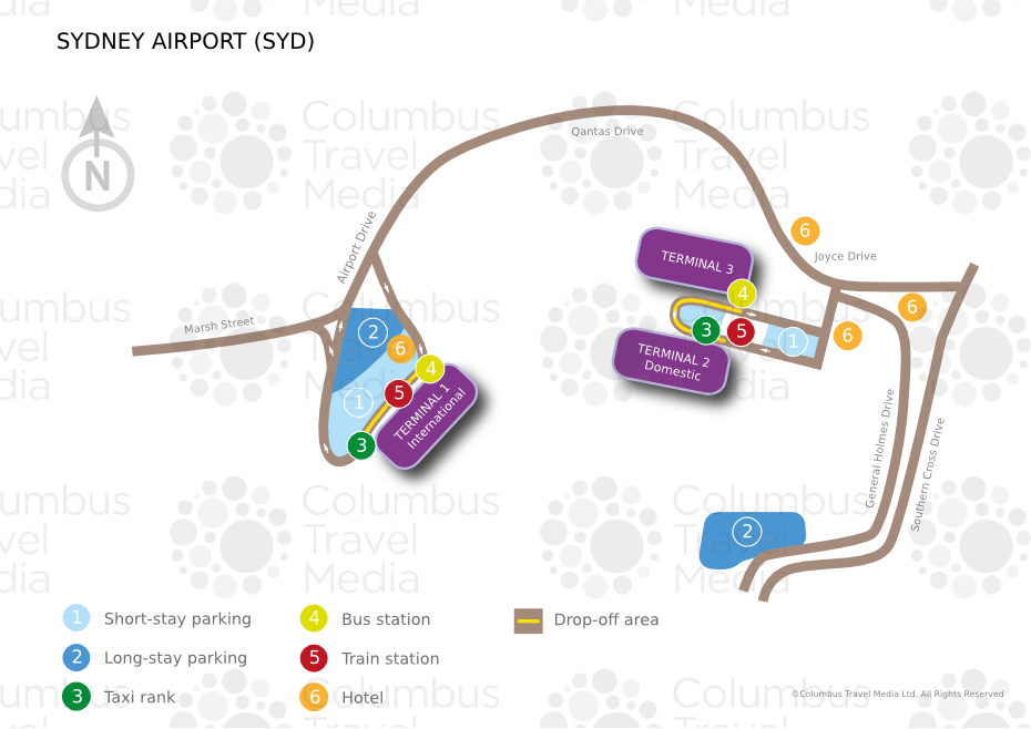 Sydney Airport World Travel Guide - Sydney airport to cruise ship terminal