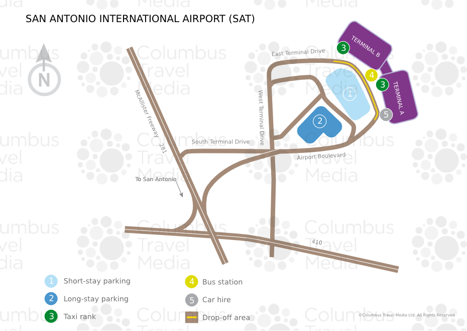 San Antonio International Airport World Travel Guide