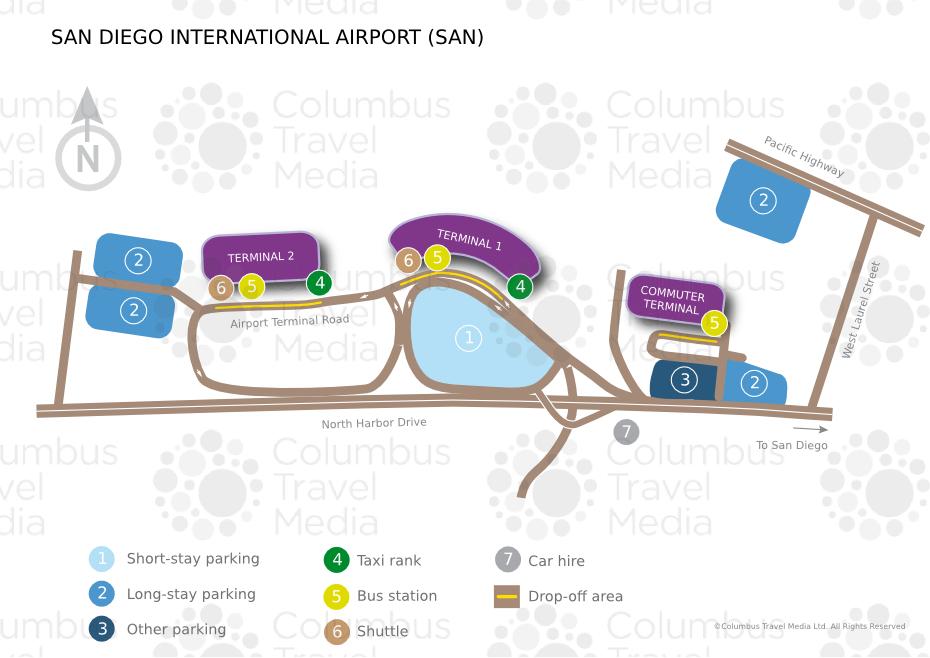 Enterprise Car Rental San Diego Airport Location