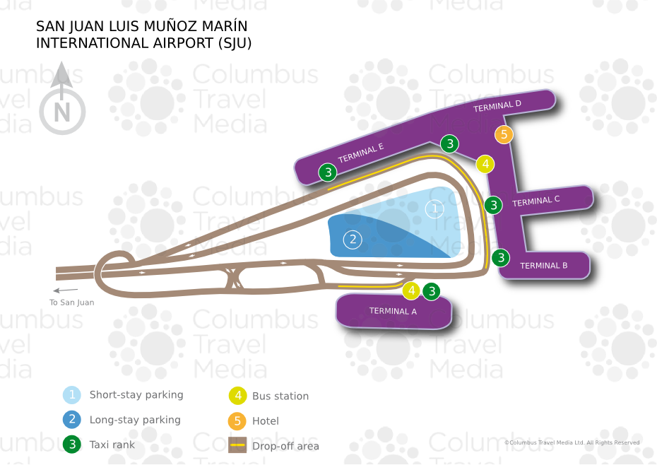 San Juan Airport Map San Juan Luis Muñoz Marin International Airport | World Travel Guide
