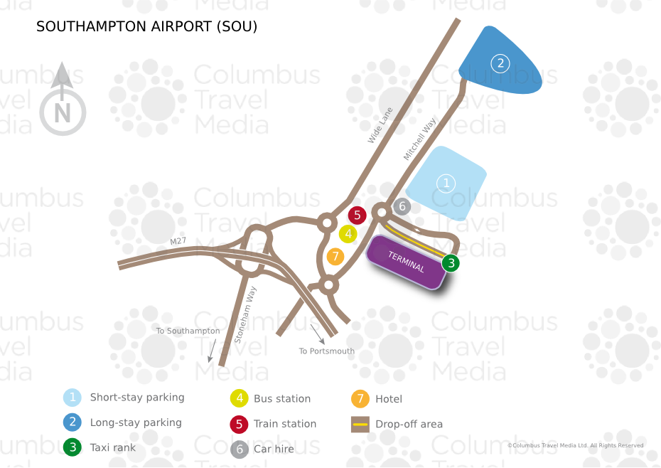Southampton Airport World Travel Guide