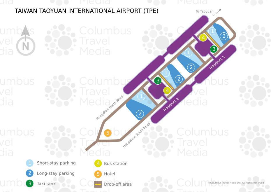 Taiwan Taoyuan International Airport World Travel Guide