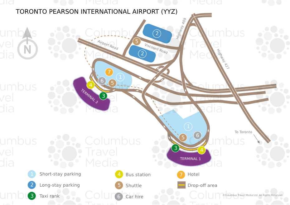Toronto Pearson International Airport World Travel Guide