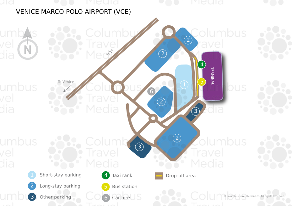 Venice Airport Map Venice Marco Polo Airport | World Travel Guide Venice Airport Map