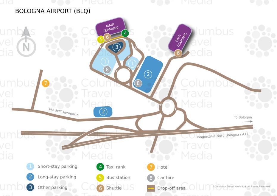 На самолете в Болонью, аэропорт Болоньи