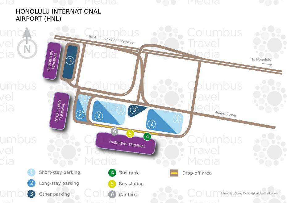 Honolulu International Airport Terminal m Honolulu International Airport