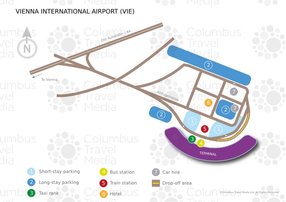 Схема размещения терминалов