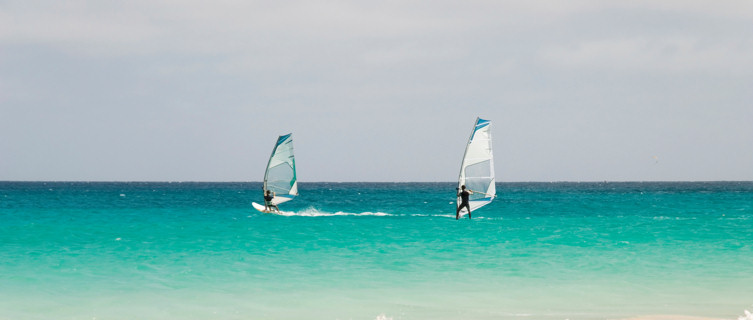 Windsurfers,