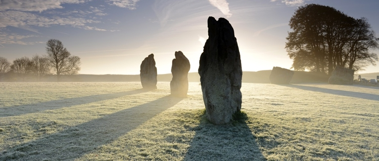 The village of Avebury boasts the largest stone circle in Europe. That's one reason to visit.