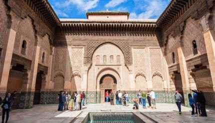 Ben Youssef Madrasa, Marrakesh, Morocco.