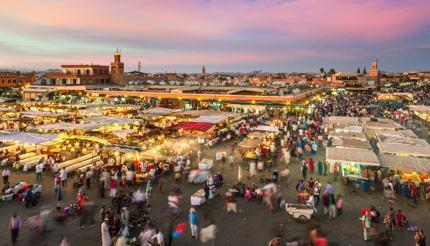 Jamaa el Fna market square