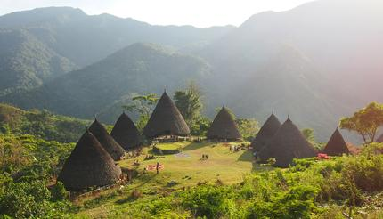 Wae Rebo village in Flores, Indonesia