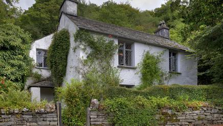 Dove Cottage the home of poet William Wordsworth's, Grasmere, Cumbria, England