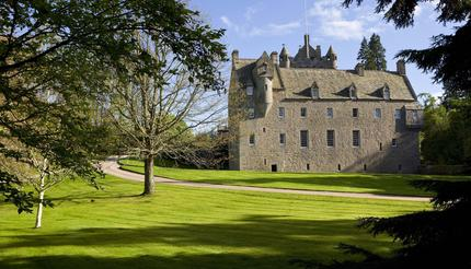 The location of Cawdor Castle was said to have been selected by a sleeping donkey