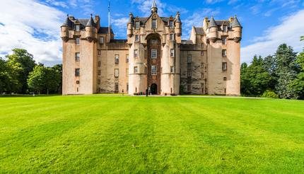 Fyvie Castle was featured in Living TV's Most Hunted season 6