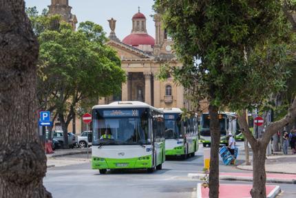 Buses in Malta