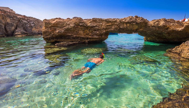 Chase the sun on the cool island of Malta - Blue Lagoon, Comino, Malta