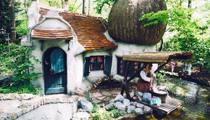 Attraction at De Efteling, a fantasy theme park in The Netherlands
