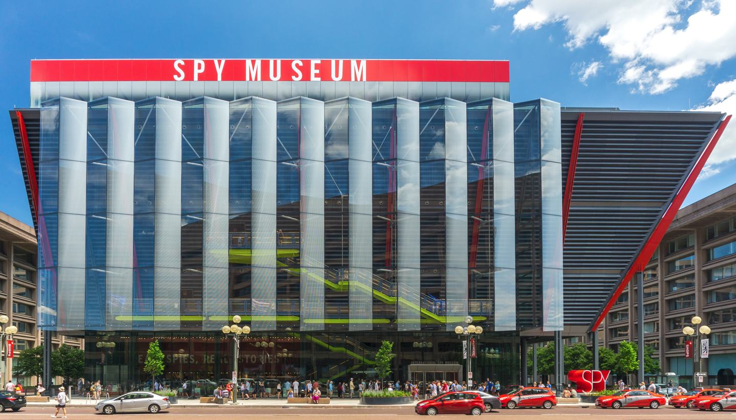 Top 5: Destinations fit for spies - International Spy Museum, Washington, USA