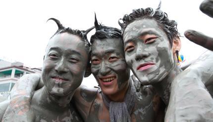 Boryeong Mud Festival in South Korea
