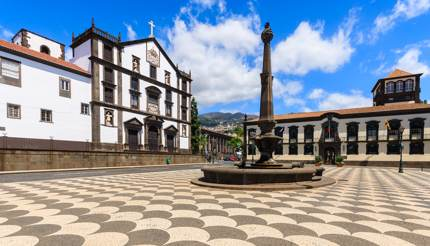 Old Town in Madeira, Portugal