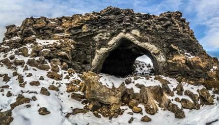 Dimmuborgir lava formations, Iceland