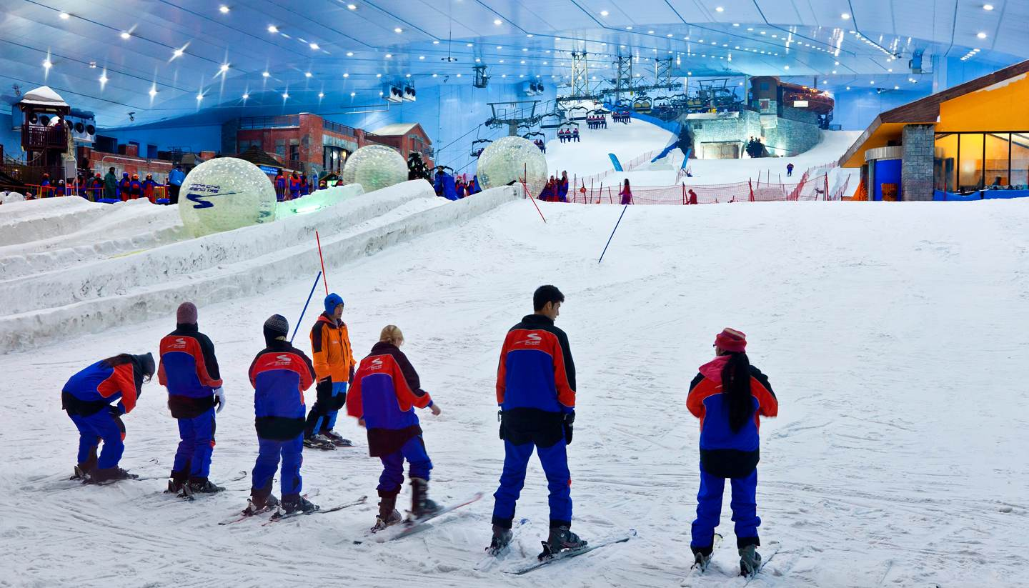 Top 5: Indoor ski centres - Ski Dubai in the Mall of Emirates, Dubai, UAE