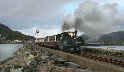 Ffestiniog Railway is the world's oldest independent train line