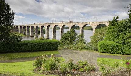 The East Coast Main Line at Berwick-Upon-Tweed