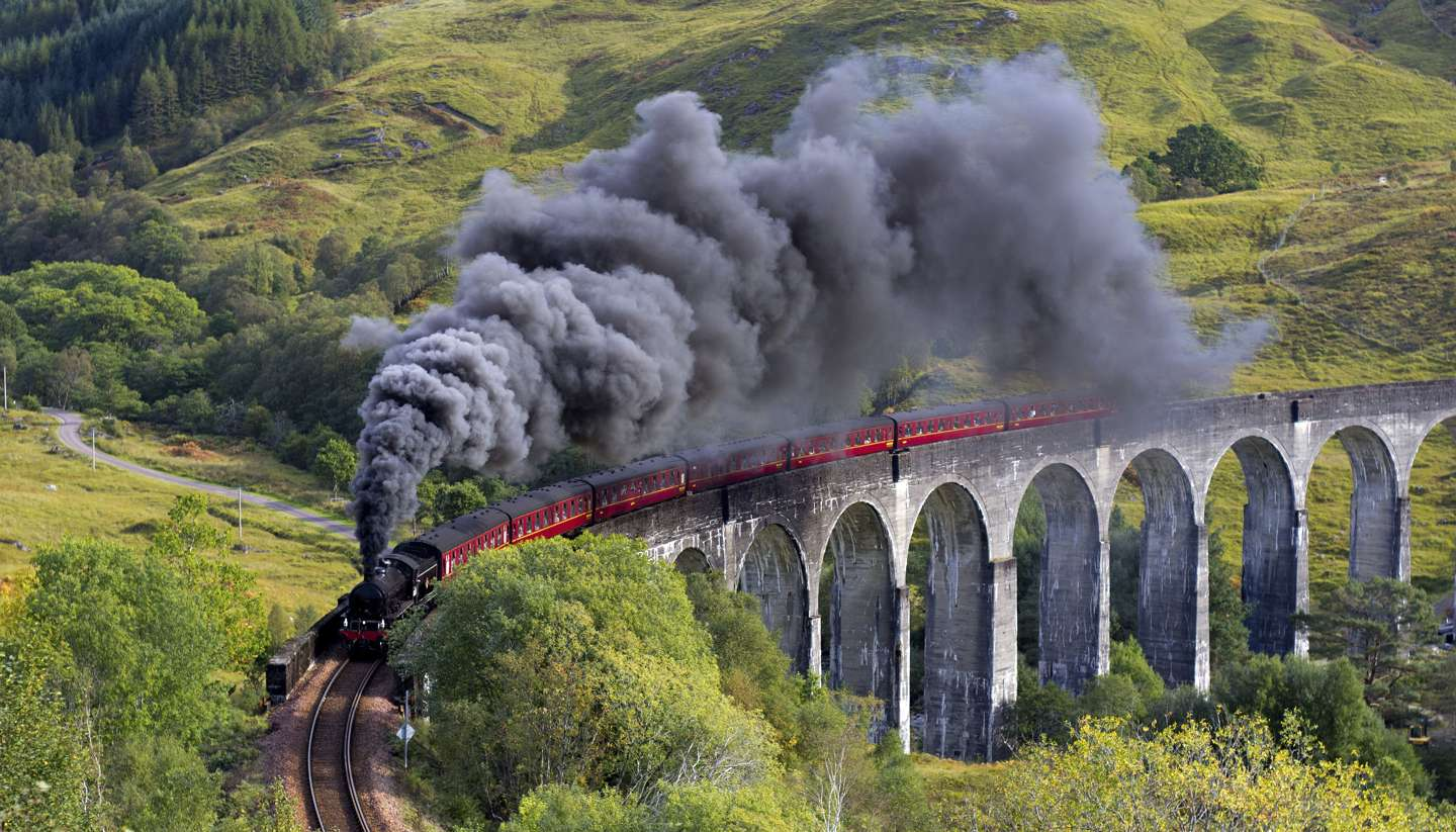 Britain's best train journeys - britain's best train journeys