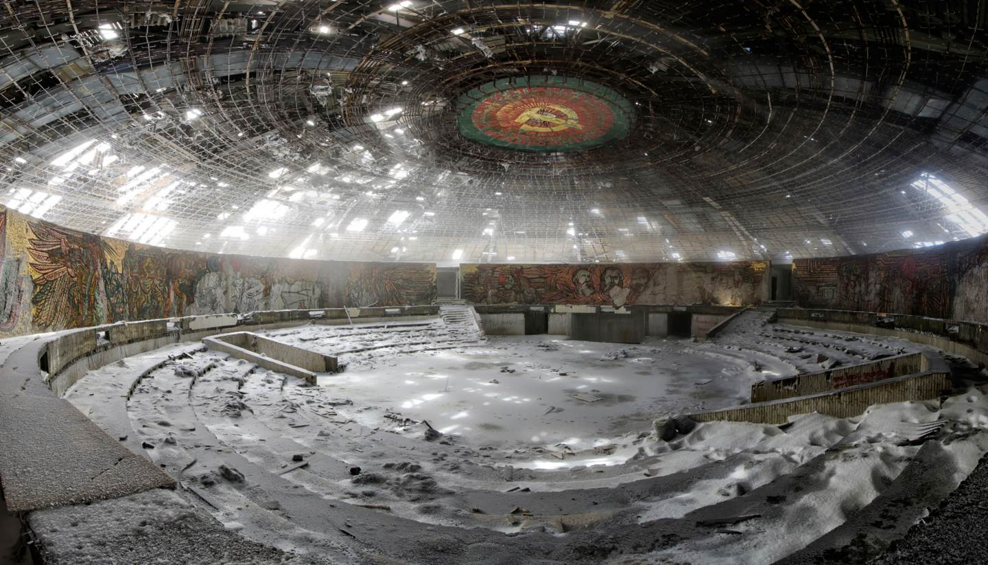 I visited Buzludzha, an abandoned Communist Party HQ - I visited buzludzha abandoned communist party hq