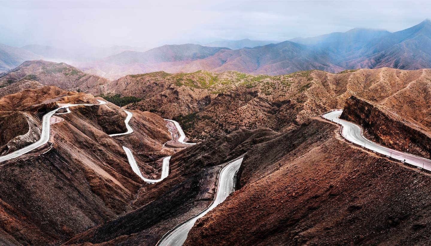 The complete guide to exploring the Atlas Mountains - Road in Atlas mountains, Morocco